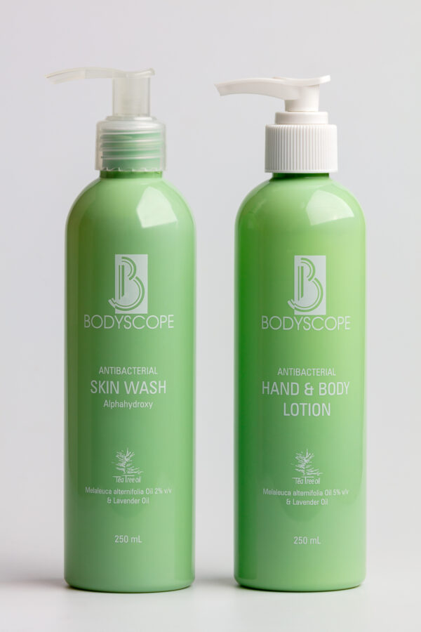BodyScope anti-bacterial skin and hand care pack